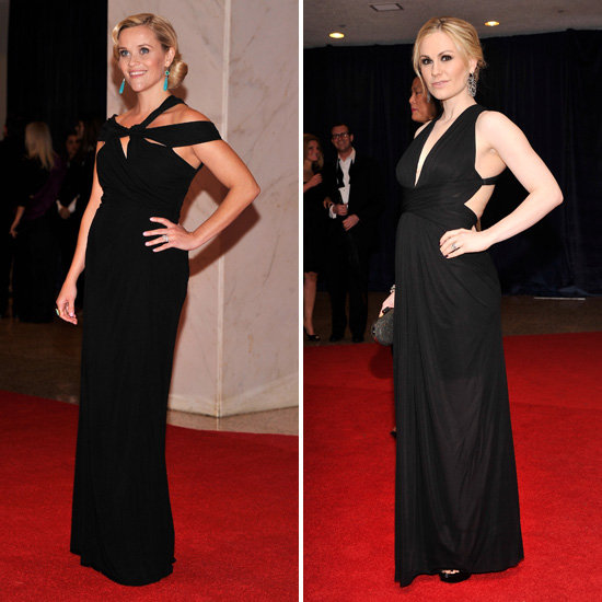 Reese Witherspoon and Anna Paquin Pregnant Pictures at 2012 White House Correspondents' Dinner