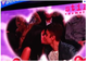 Justin Bieber and Selena Gomez lip-locked for the kiss cam at the Lakers game.