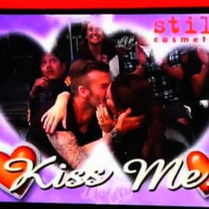 Victoria and David Beckham Kiss Cam Video Footage at Lakers Game