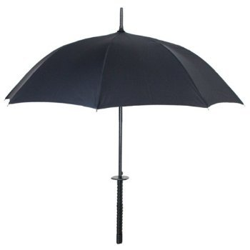 An umbrella that literally fights the rain, the Samurai Sword Umbrella ($35) is mighty cool. When it's not in use, simply place the umbrella in the carrier. No one has to know it's not a real sword!