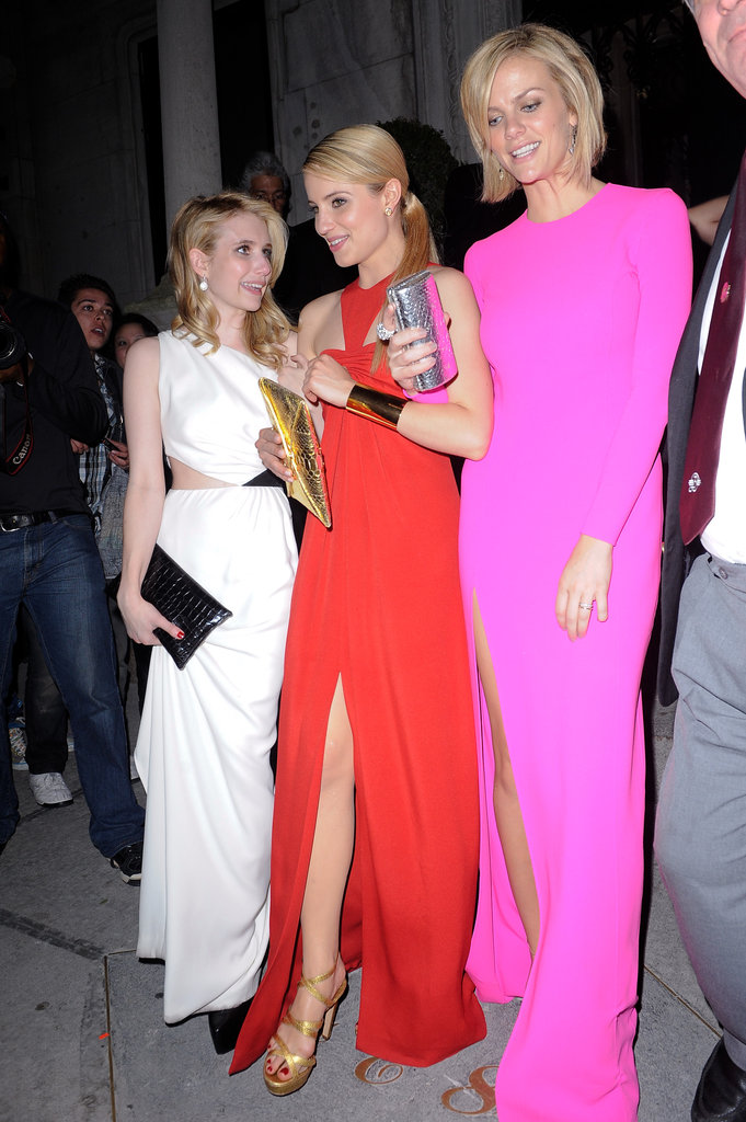 Emma Roberts, Dianna Agron, and Brooklyn Decker —2011