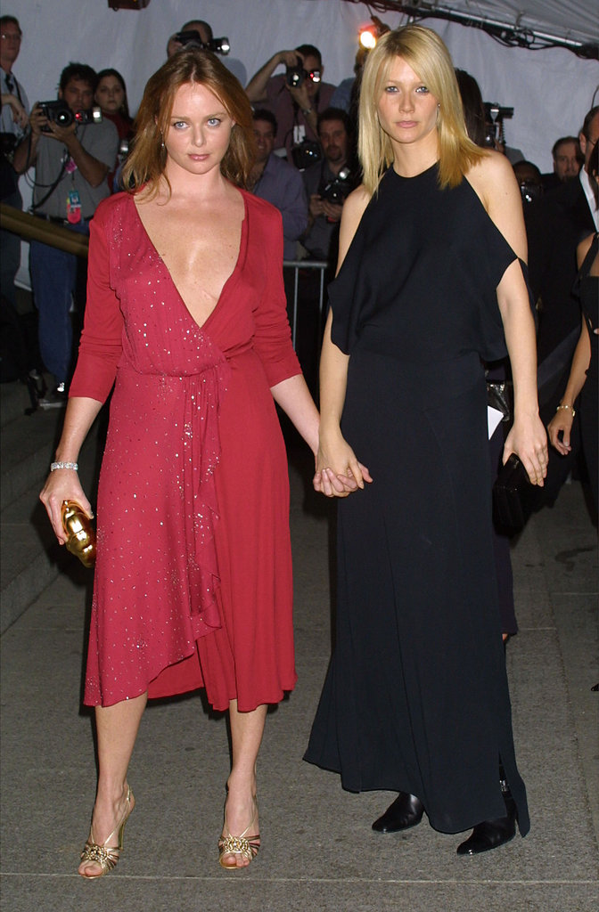 Gwyneth Paltrow and Stella McCartney — 2001