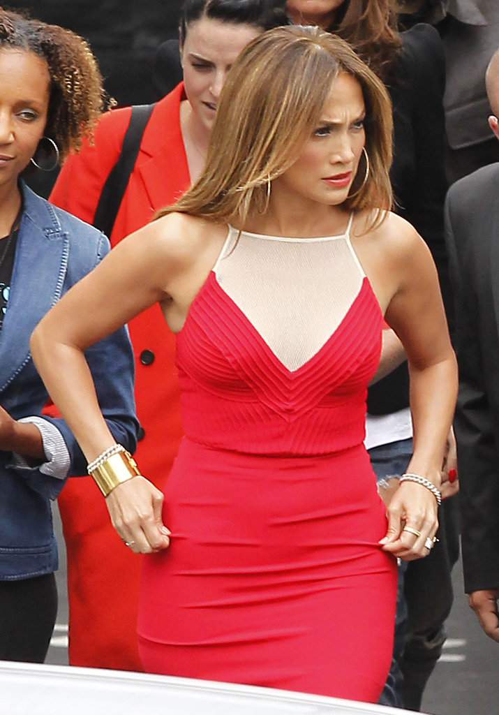 Jennifer Lopez made her way to the American Idol stage to judge the competition.