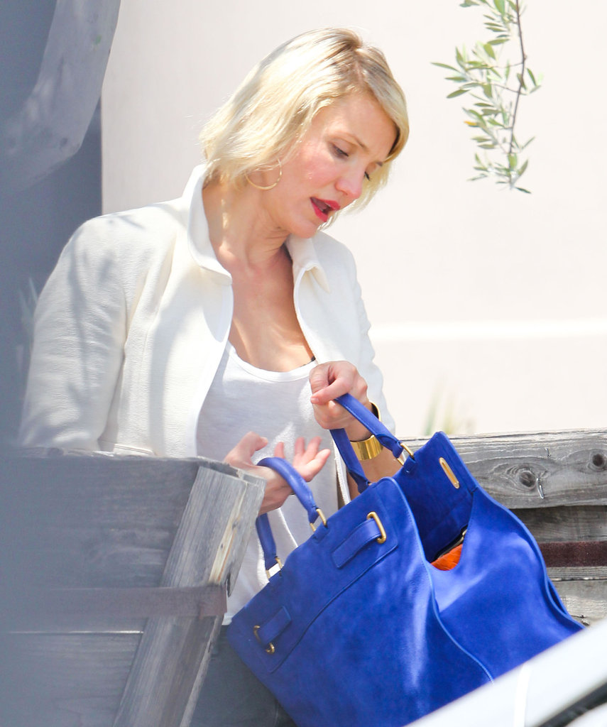 Cameron Diaz was out in LA.