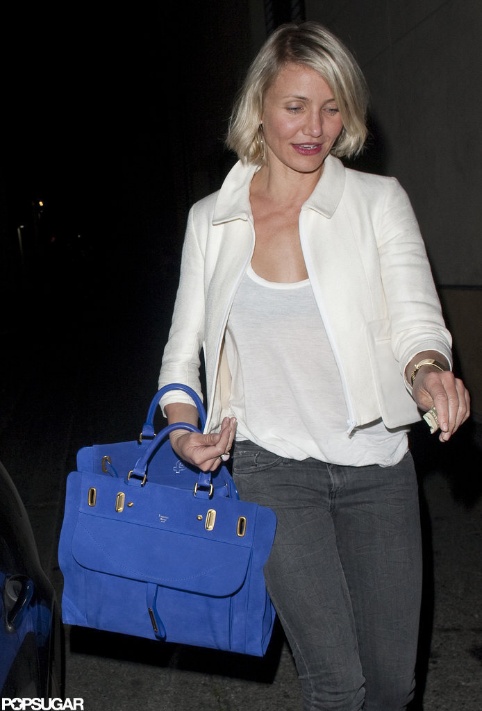 Cameron Diaz headed home.
