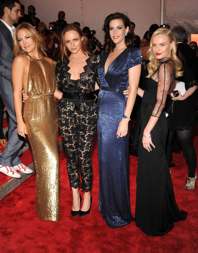Kate Hudson, Stella McCartney, Liv Tyler, and Kate Bosworth