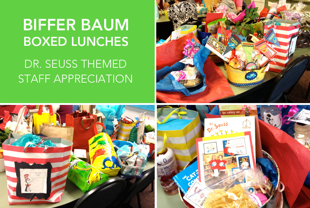 Tuesday: Biffer Baum Boxed Lunches