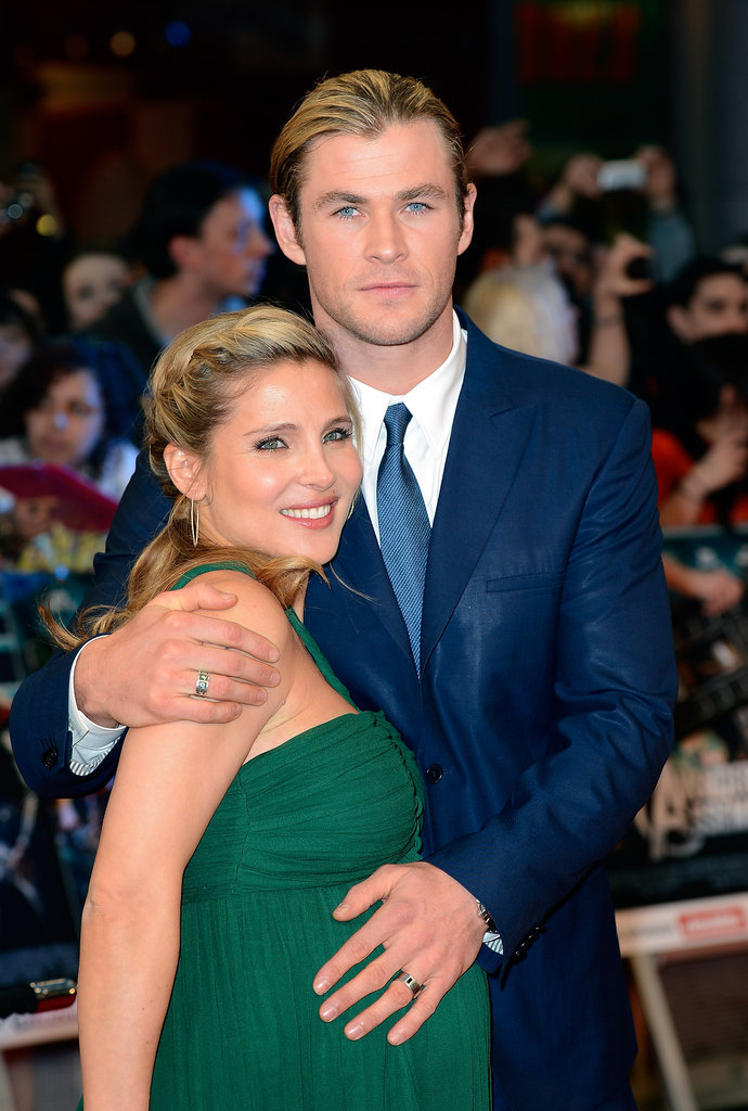 Chris Hemsworth Frau