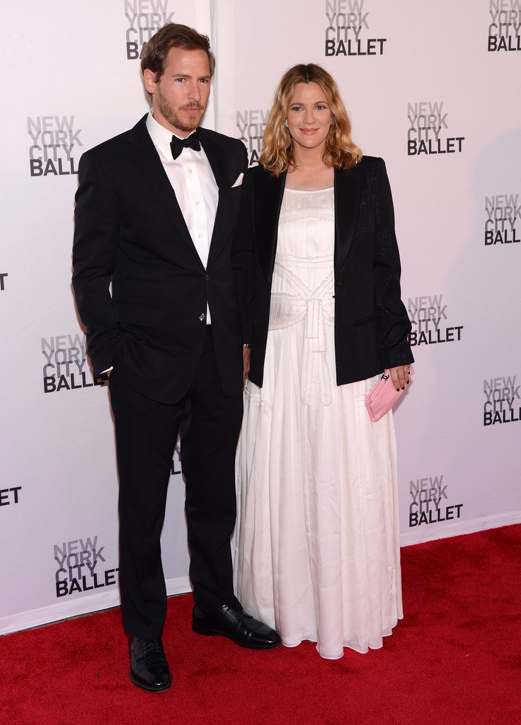 Drew Barrymore was accompanied by Will Kopelman at New York City Ballet's 2012 Spring Gala.