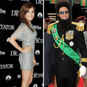 The Dictator London Premiere Pictures of Sacha Baron Cohen, Isla Fisher, Anna Faris