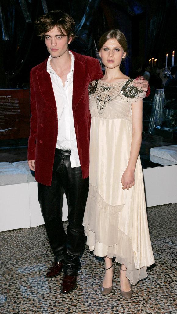 Robert linked up with Clemence Poesy, his Harry Potter and the Goblet of Fire costar, at their premiere in London during November 2005.