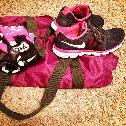 Instagram Gym Bag Picture Challenge