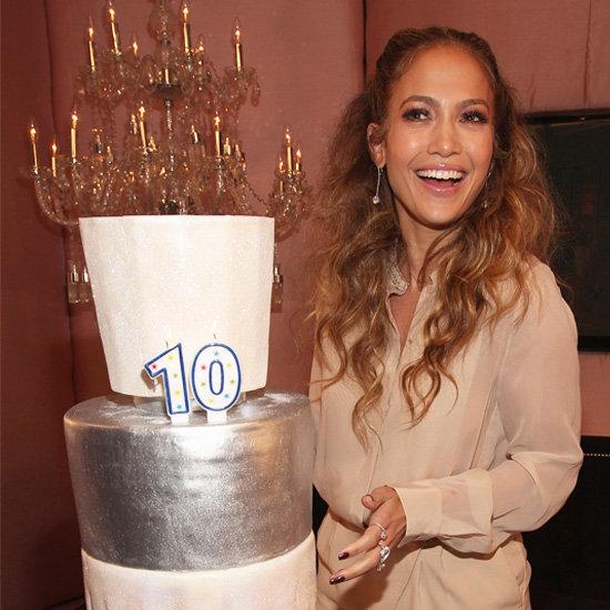 Jennifer Lopez Celebrates 10 Years With Coty