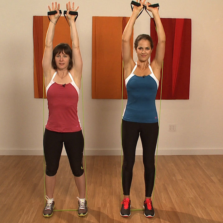 Exercise Bands Exercises Arms: Resistance Band Workout Video: Arms, Legs, And Abs