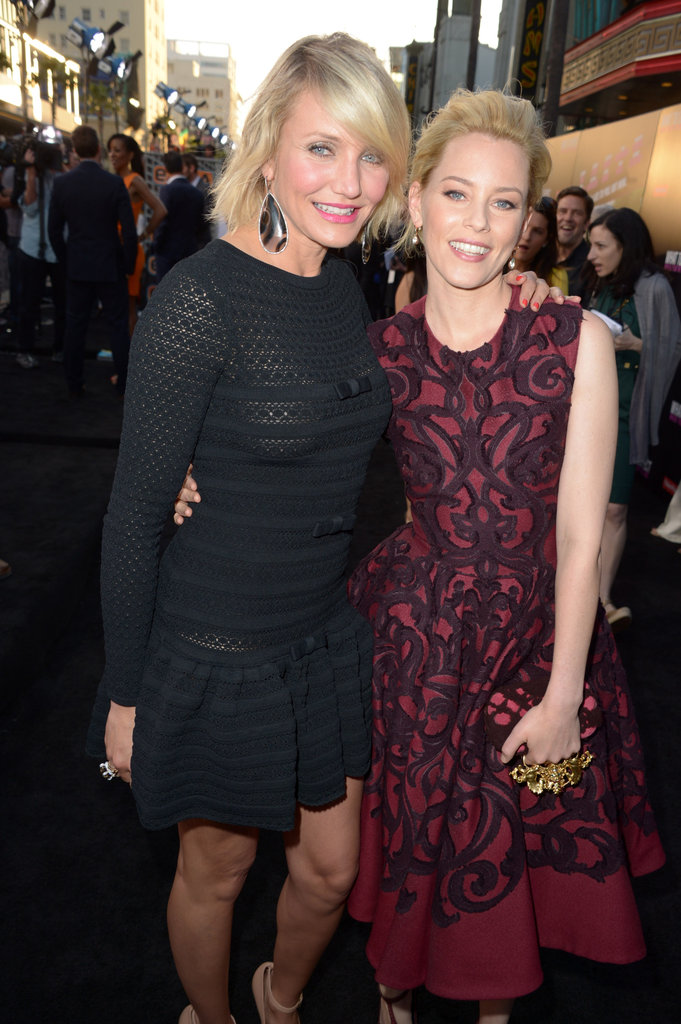 Photo of Elizabeth Banks & her friend actress  Cameron Diaz - Los Angeles