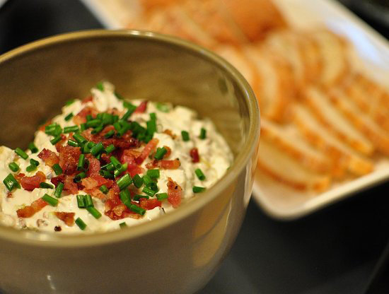 Leek and Bacon Dip
