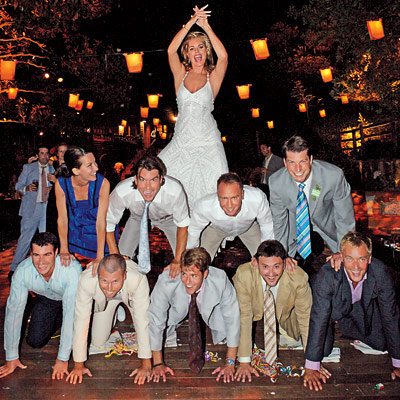 Jerry O'Connell and Rebecca Romijn's Pyramid