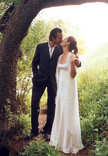 Benjamin Bratt and Talisa Soto Fairytale Moment