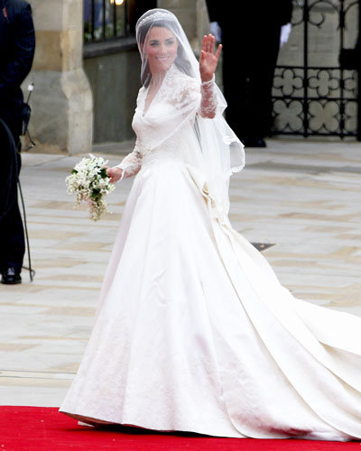Catherine Middleton's Gown Reveal
