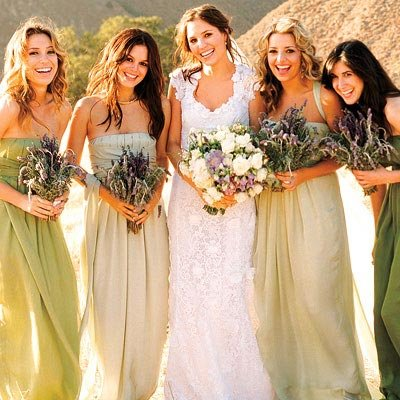 Rachel Bilson's Maid of Honor Duties