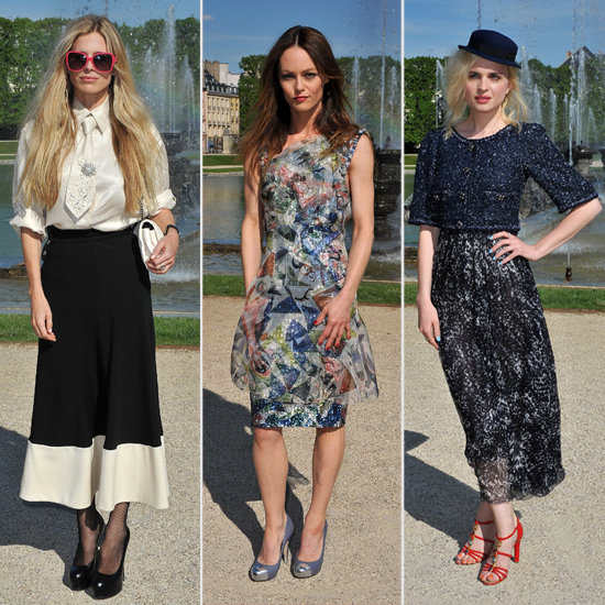 Chanel's Cruise Collection 2013 Front Row Crowd Pictures