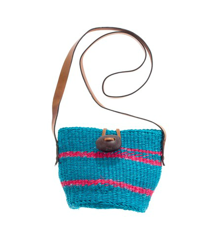 While the actual bag is off-duty chic, we think the turquoise-pink color combo dresses up this straw bag. Wear it with your bikini or with your Summer errands ensemble, it's superversatile. Bamboula Ltd. Little Market Bag ($58)