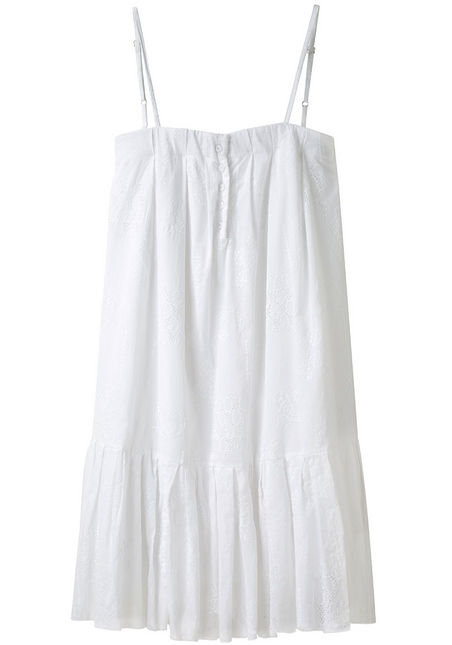 """When we think """"eyelet dress,"""" this cutie is what we see — short, sweet, and definitively Spring.  Girl by Band of Outsiders Embroidered Dress ($445)"""