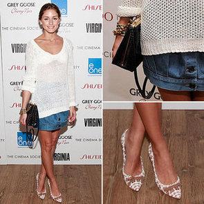 Steal Olivia Palermo's Denim Skirt Style: Shop It  Acne, Prada and more Via ShopStyle Australia!