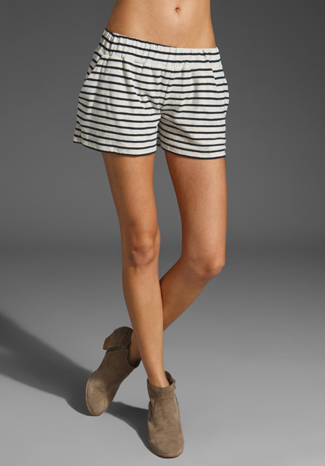 These nautical-inspired striped shorts make us want to set sail.  DemyLee Sailor Stripe Short ($70)