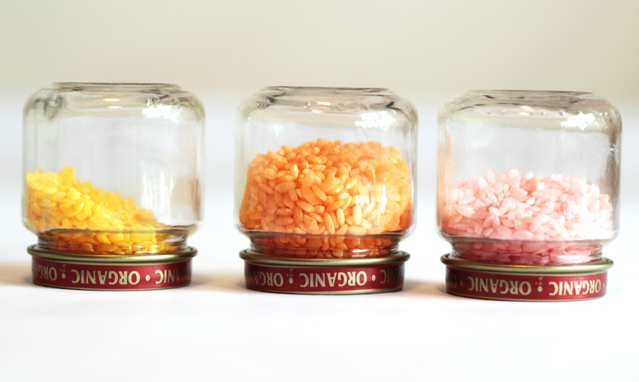 Upcycle Your Baby Food Jars Into Colorful Shakers