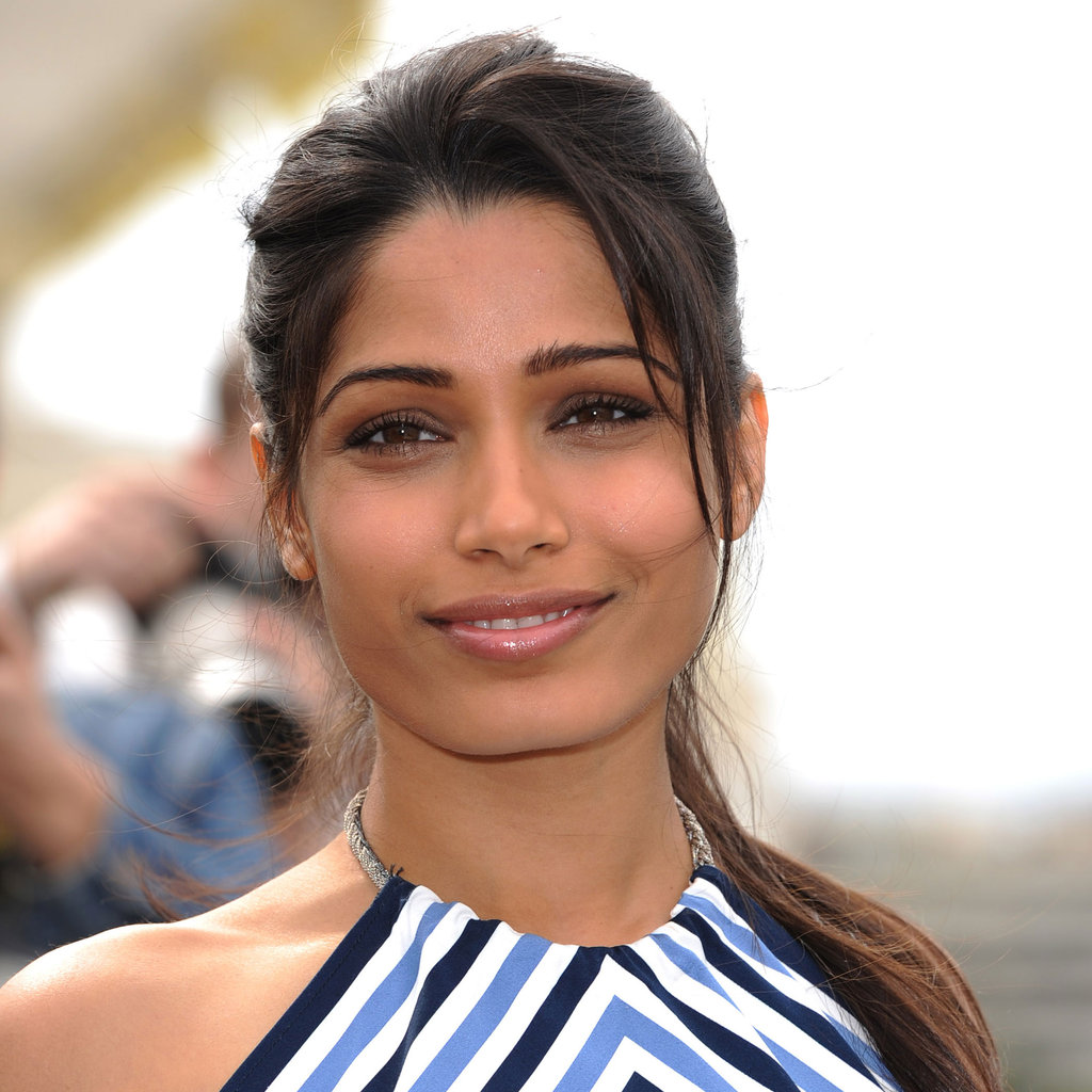 Freida Pinto at the Desert Dancer Photocall