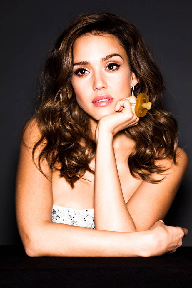 Jessica Alba posed for Fast Company. Photo courtesy of: Fast Company