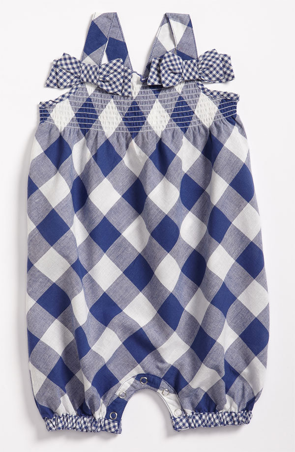 Pumpkin Patch Gingham Coveralls ($37)