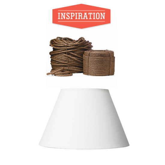 DIY Rope Lampshade