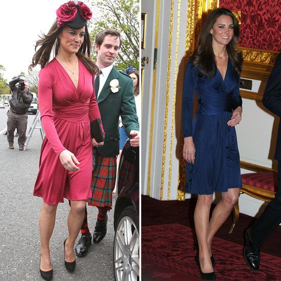 Pippa Middleton Wearing Kate Middleton's Issa Forever Dress