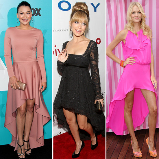 See How Celebs Work the High-Low Hemline Trend