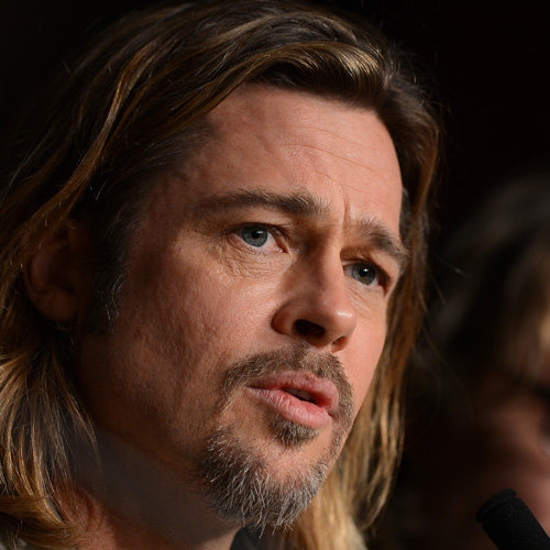 Brad Pitt Pictures at Cannes Press Conference