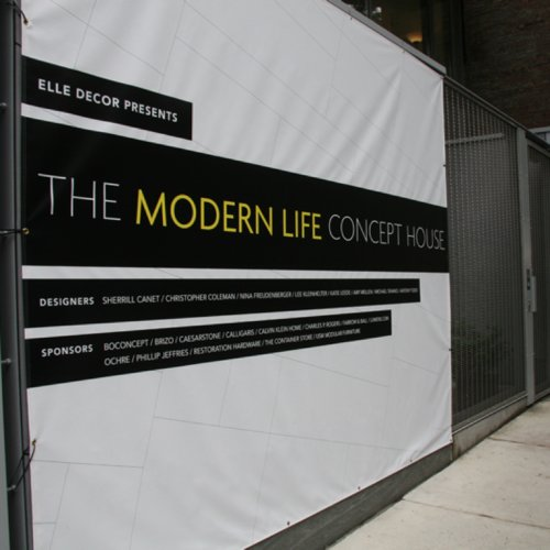 Pictures of Elle Decor's Modern Life Concept House