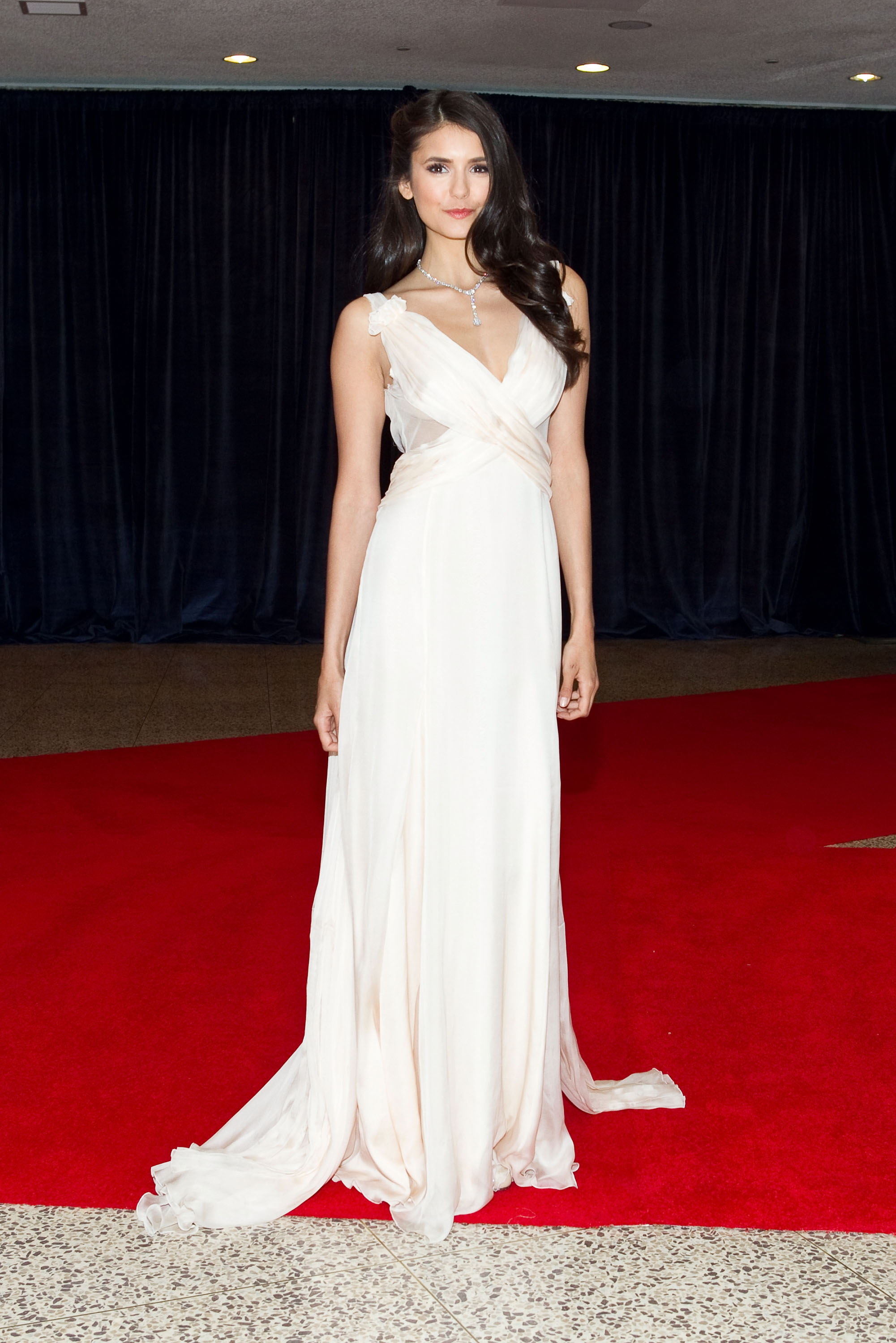 She wowed in a gorgeous white gown at the 2011 White House Correspondents' Association dinner.