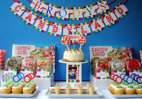 A Candyland Party