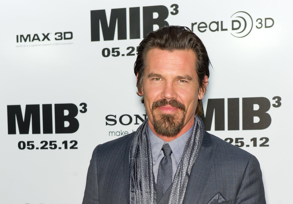Josh Brolin had a smile on at the Men in Black III premiere in NYC.