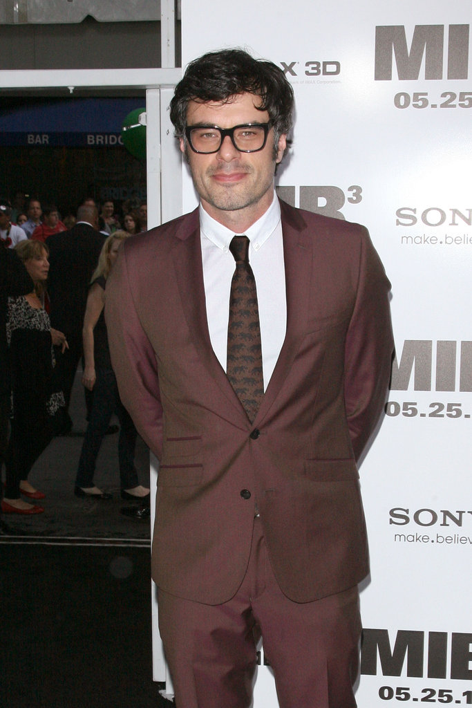 Jemaine Clement was on hand for the Men in Black III premiere in NYC.