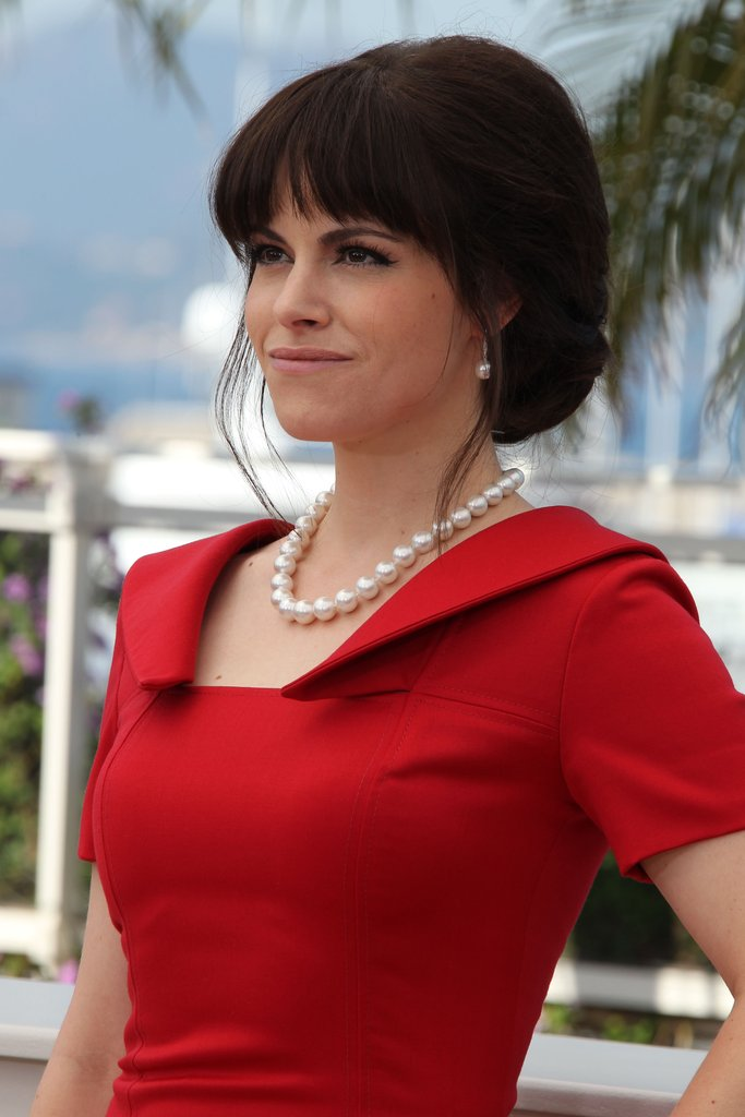 Emily Hampshire attended the Cosmopolis photocall in Cannes.