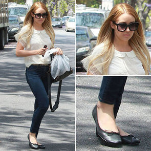 Lauren Conrad Shows Us How to Sweeten Up Our Jeans