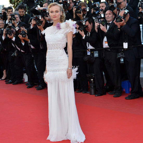 Diane Kruger Wears White Three Times at the 2012 Cannes Film Festival: Chanel, Prabal Gurung + Nina Ricci: Which Look Wins?