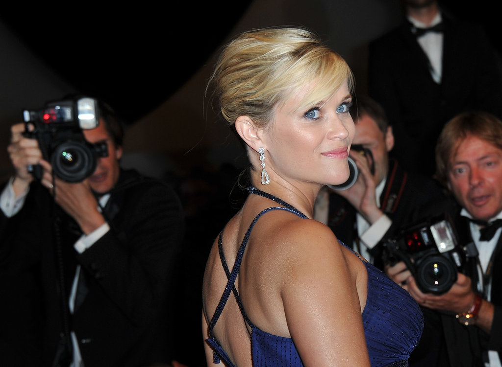 Pregnant Reese Witherspoon Sparkles in Blue Next to Handsome Matthew McConaughey