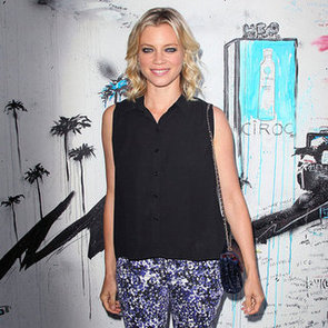 Amy Smart Printed Jeans