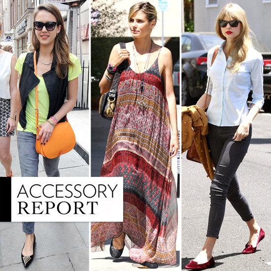 Celebrities Wearing Flats 2012