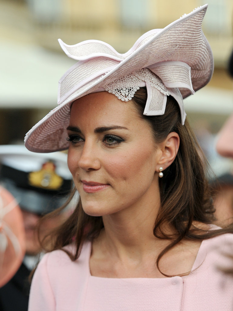 Kate attended a garden party at Buckingham Palace.