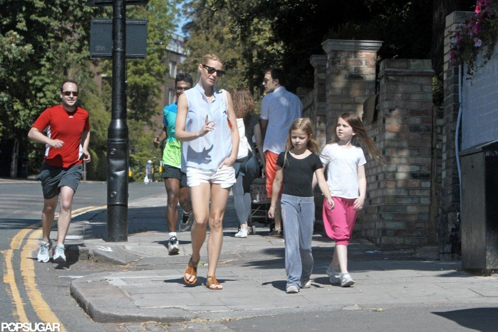 Gwyneth Paltrow and Apple took a walk together in London.